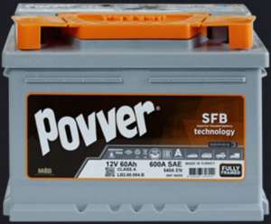 Аккумуляторы Рovver. Купить авто аккумулятор. - изображение 1