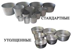 Алюминиевые формы для выпечки пасок и куличей - изображение 1