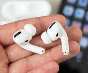 Беспроводные наушники Apple AirPods PRO Bluetooth 5.0 с кейсом - изображение 1
