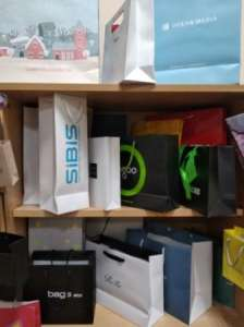 Брендированные крафтовые пакеты. Бумажные пакеты. - изображение 1