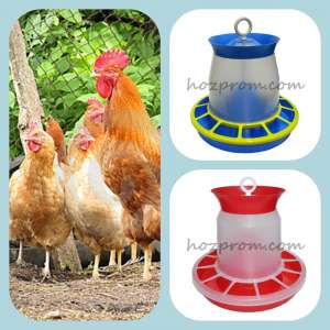 Бункерные кормушки для кормления домашней птицы любого возраста - изображение 1