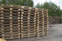 БУ Деревянные поддоны. Размеры 1200*800, 1200*1000, 1200*1200 - изображение 1