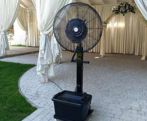 Вентилятор, увлажняющий воздух. Туманообразование - изображение 1
