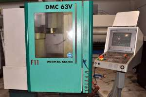 Вертикально-фрезерный станок с чпу DECKEL MAHO 63V - изображение 1