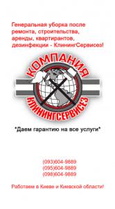 Генеральная уборка квартиры от КлинингСервисез, Вышгород. - изображение 1