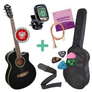 Гитара акустическая Polcraft с аксессуарами - изображение 1