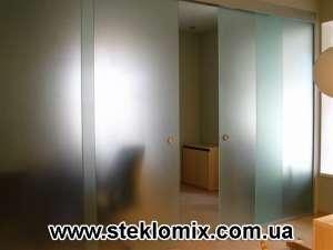 Двери из стекла на заказ, стеклянные двери от производителя - изображение 1