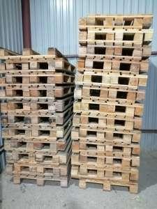 Деревянные поддоны БУ как целые так и ремонтные - изображение 1