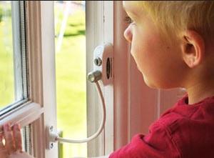 Детский Блокиратор на Окна Penkid Safety Lock С Тросом (Турция) - изображение 1