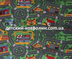Детский ковер дорога City Life. Доставка по Украине. - изображение 1