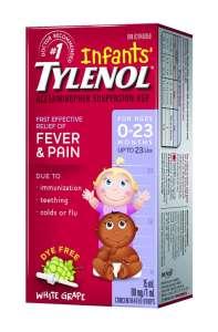 Детский Тайленол сироп, лекарство от температуры для детей Тайленол - изображение 1