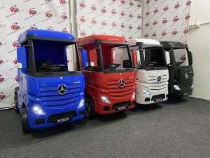 Детский электромобиль-фура- грузовик MERCEDES-BENZ ACTROS M 4208EBLR, Днепр - изображение 1