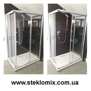 Душевые шторки из стекла под заказ с доставкой по Украине - изображение 1