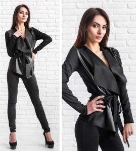 Женские кардиганы, женские пиджаки, стильные женские кардиганы, пиджаки больших размеров купить - изображение 1