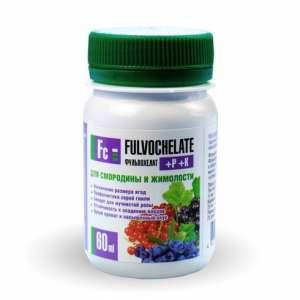 Жидкое удобрение Фульвохелат + Р + К для сморидины и жимолости 60мл - изображение 1