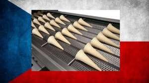 Изготовление вафельных стаканчиков для мороженного в Чехии - изображение 1