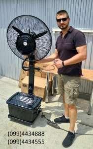 Качественные вентиляторы-увлажнители для уличных кафе - изображение 1
