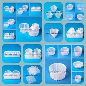 Комплект форм для сыра Приготовления домашнего твердого сыра из молока - изображение 1