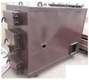 Котел воздушного отопления KFV-100 мощностью 100 кВт. - изображение 1
