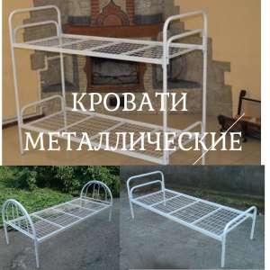Кровати двухъярусные, металлическая кровать бюджетная - изображение 1