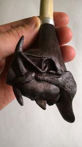 Курительные трубки ручной работы из дерева. Сувенирные для курения - изображение 1
