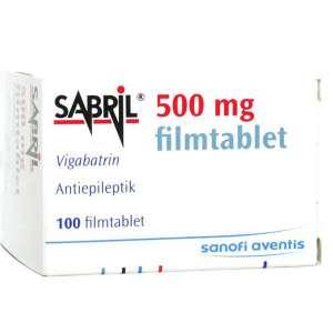 Лекарство против эпилепсии Sabril 500mg 100 (Сабрил) - изображение 1