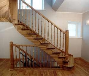 Лестницы из натурального дерева под заказ. - изображение 1