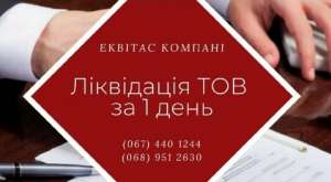 Ликвидация ООО в Киеве. Экспресс-ликвидация предприятия. - изображение 1