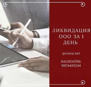 Ликвидация ООО за 1 день Днепр - изображение 1
