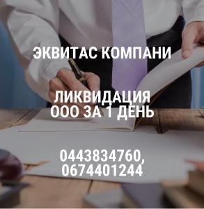 Ликвидация ООО за 24 часа в Одессе. - изображение 1