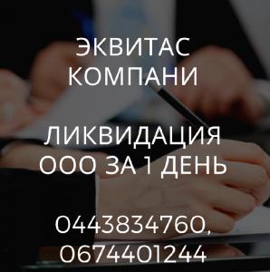 Ликвидируем любое предприятие за 24 часа в Харькове. - изображение 1