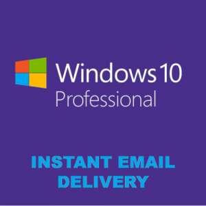 Лицензионный ключ Windows 10 PRO 32/64 bit Цифровая лицензия RETAIL KEY Multilanguage - изображение 1