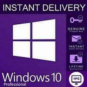 Лицeнзионный ключ Windоws 10 РRO 32/64 bit Цифpовая лицензия RETAIL KEY Multilan - изображение 1