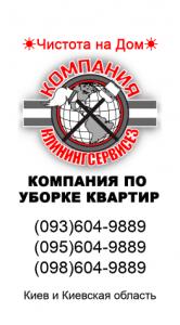 Лучшая клининговая компания в Киеве - КлинингСервисез - изображение 1