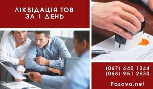 Ліквідація ТОВ за 1 день шляхом зміни директора. - изображение 1