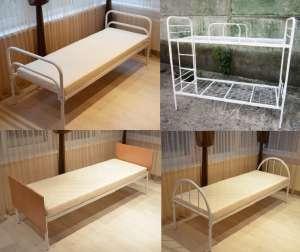 Металлическая кровать. Кровати двухъярусные. Металлические кровати недорого - изображение 1