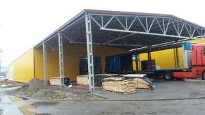Металлические ангары недорого в Мукачево. - изображение 1