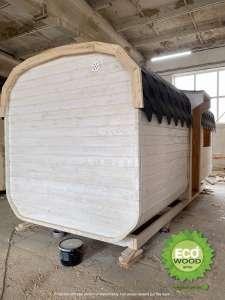 Мобильная баня квадро с душевой кабинкой под ключ 6х2,3 м. от производителя. - изображение 1