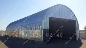 Модульные бескаркасные арочные быстровозводимые разборные ангары - изображение 1