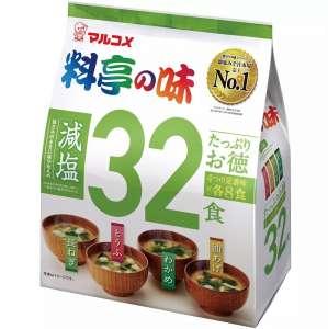 Настоящий японский Мисо суп Marukome быстрого приготовления 32 порции - изображение 1