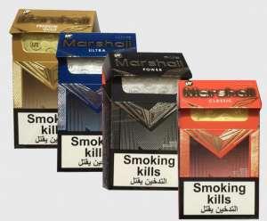 Оптом продажа сигарет Marshall Power, Classic, Ultra,Gold Duty Free - изображение 1
