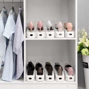 Органайзер для обуви. Подставка для обуви пластиковая. - изображение 1
