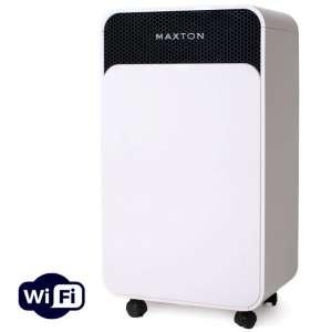 Осушитель воздуха Maxton MX-12s WiFi с дистанционным управлением по Wi-Fi и ионизацией - для борьбы с плесенью, грибком - изображение 1