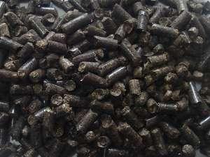 Пеллета , топливная гранула , из лузги подсолнечника - изображение 1