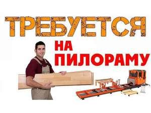 Пилорамщик рамщик разнорабочий - изображение 1