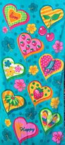 Пляжные полотенца велюр-махра в ассортименте расцветок - изображение 1