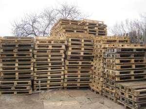 Продаем поддоны деревянные б/у в Киеве, ремонт поддонов Киев - изображение 1