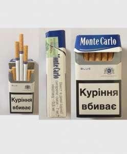 Продажа сигарет оптовая Monte Carlo blue Украинский акциз - изображение 1