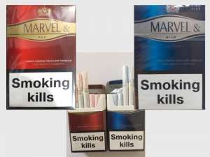 Продажа сигарет - Marvel king size Red, Blue Duty Free опт - изображение 1