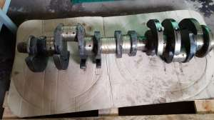 Продам коленвал ЯМЗ -238 ( МАЗ-7511) - изображение 1